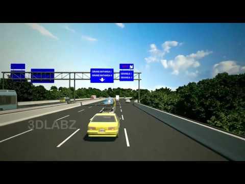 Sea Port 3D Walkthrough Animation   3D Animation Video for Kribi Sea Port, Cameroon