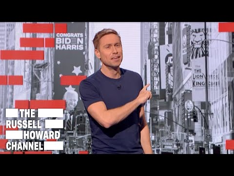 Russell Howard Rounds Up This Week's News | The Russell Howard Channel