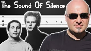 Sounds Of Silence Simon And Garfunkel Disturbed Easy Guitar Tabs Tutorial Fingerstyle