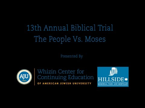 Biblical Trial: The People vs. Moses