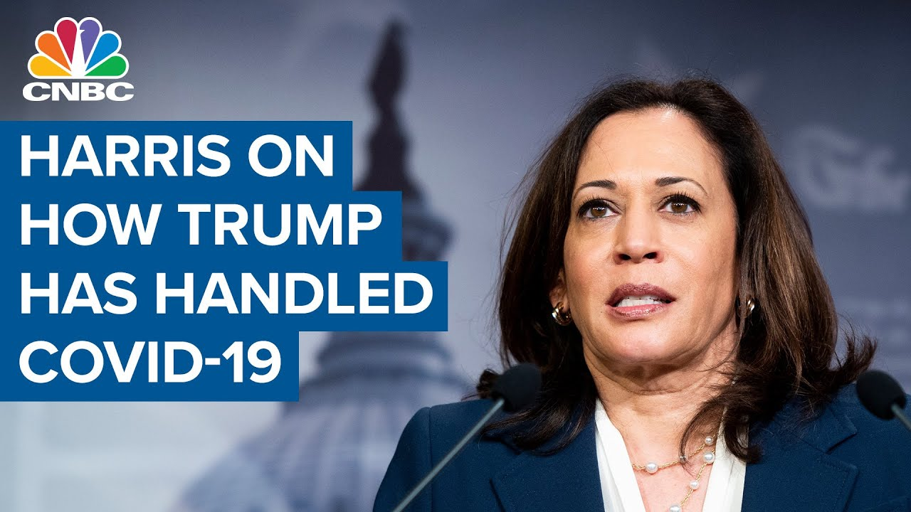 Kamala Harris on how President Donald Trump has handled the coronavirus pandemic