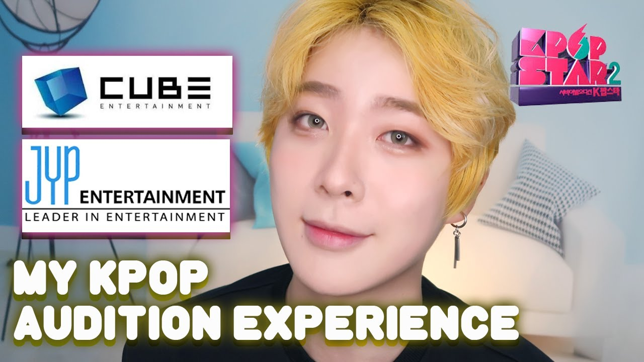 My Kpop Audition Experience Jyp Cube Entertainment L Received A Call The Next Day Youtube