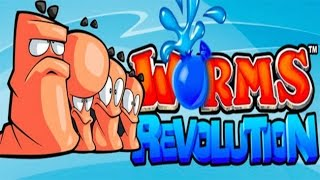 Worms: Revolution Let's play walkthrough -(XBOX360)