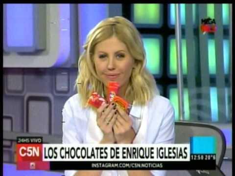 C5N - Espectaculos: Los chocolates de Enrique Iglesias