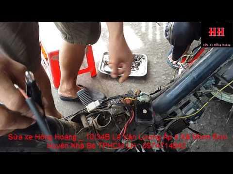 Sửa Xe Cùi Bắp_Tạo Tín Hiệu Giả Kick đánh Lừa IC Trên Xe Máy