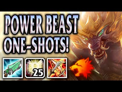 FULL AP LUNAR GUARDIAN WARWICK! FEROCIOUS DAMAGE! - League of Legends S8 Gameplay