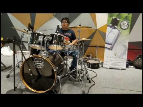 Eric Darius - Groove On (Drum Cover by M. Nabil)