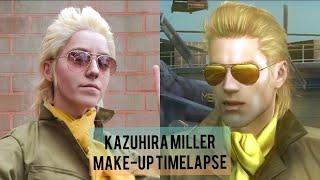 Peace Walker Kazuhira Miller Cosplay Make Up Timelapse Youtube Norcal fall/winter cosplay gathering 2015!! peace walker kazuhira miller cosplay