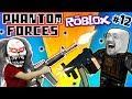 ROBLOX #12! KILLER CLOWN vs. FGTEEV CLONES! PHANTOM FORCES FPS Game Heaven / PIXEL GUN Competition