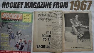 Opening A Hockey Magazine From 1967!