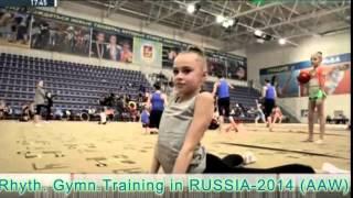 Rhythmic Gymnastics in Russia Part-1. (2014)
