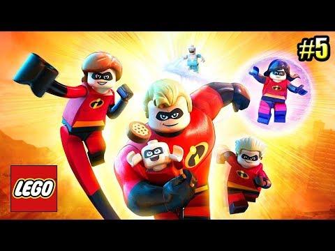 Суперсемейка {LEGO The Incredibles} прохождение часть 5 — СТАРИК в ДЕЛЕ