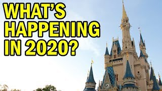 Whats Happening at Magic Kingdom 2020 | Everything YOU Need to Know!