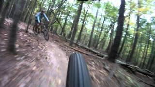 XC mountain biking - Lake Crabtree, Raleigh, NC - 10/28/2011 - GoPro HD Hero 960