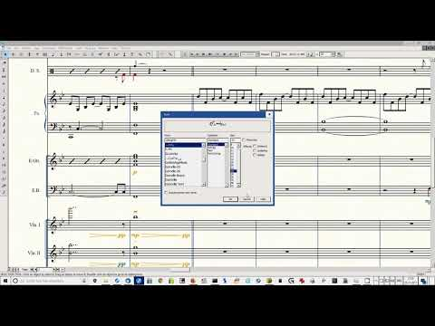 Change Fonts in Finale with the Elbsound Music Font Package