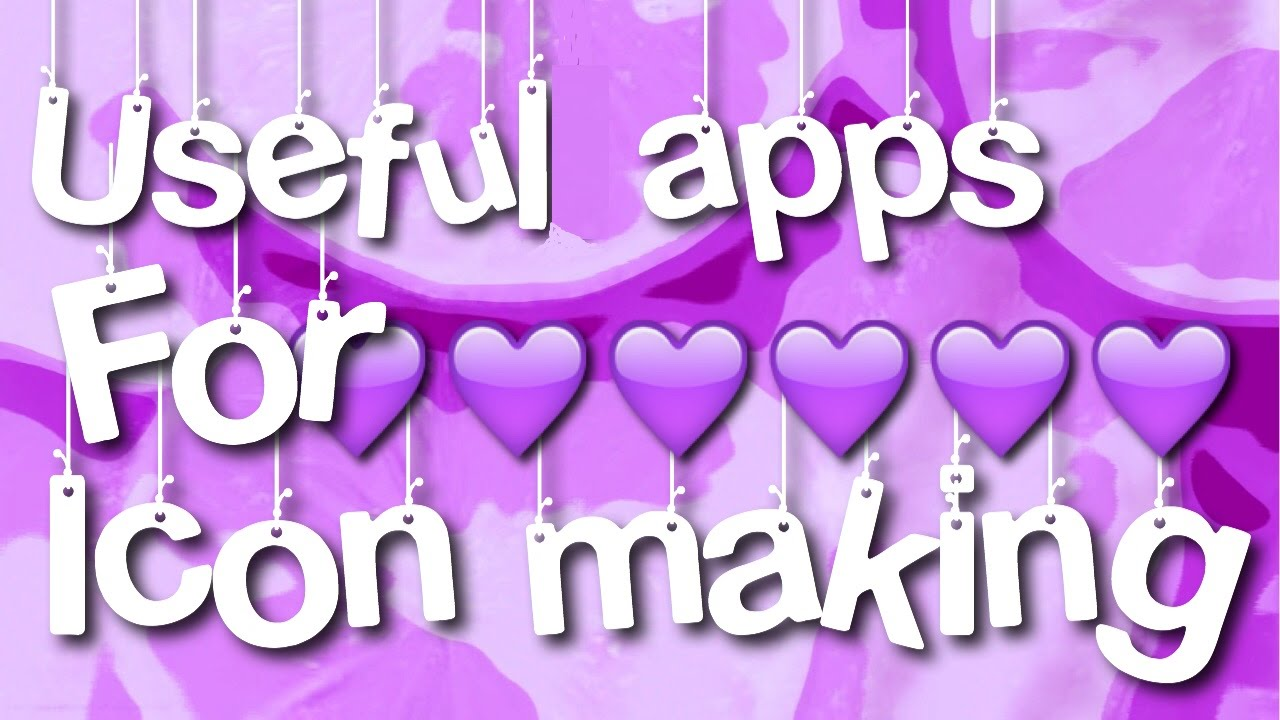 Useful apps for making icons and edits youtube useful apps for making icons and edits ccuart Gallery