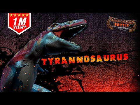 Tyrannosaurus Battle of Match : Vote to win
