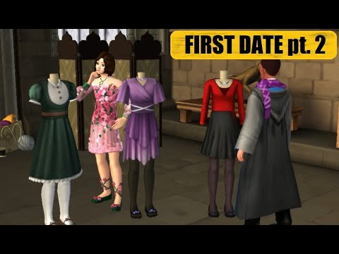 💖FIRST DATE💖Harry Potter Hogwarts Mystery Side Quest Gameplay Walkthrough Part 2
