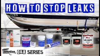 How to fix leaks with for aluminum boats | TBNation