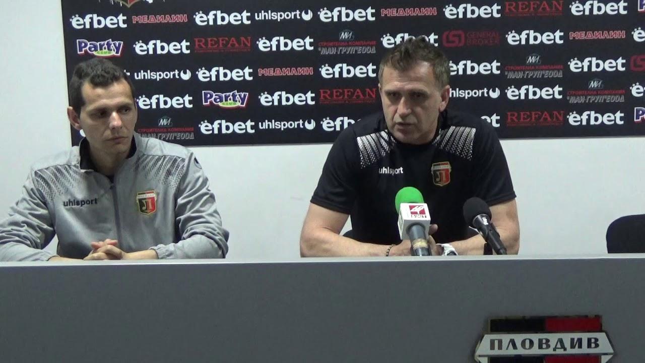 LokomotivTV: Бруно Акрапович след двубоя със Септември