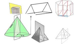 Determining Cross Sections of 3D Shapes