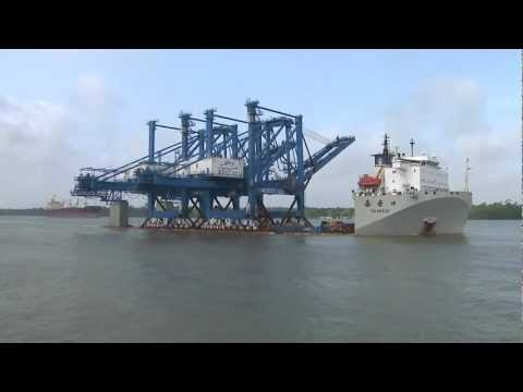 Port of New Orleans Crane Delivery