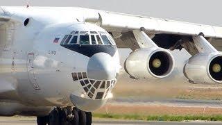 Ilyushin  IL-76TD ил 76  Takeoff [HD]