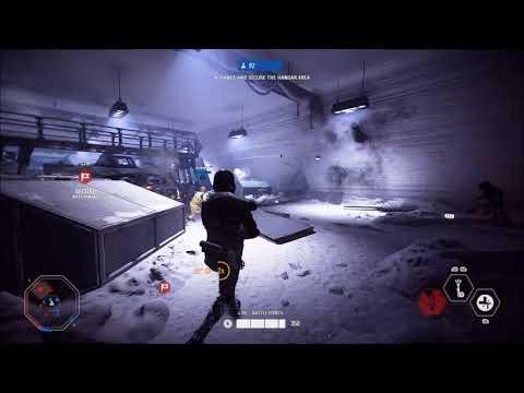 Invading Hoth as Death Trooper - Star Wars Battlefront 2