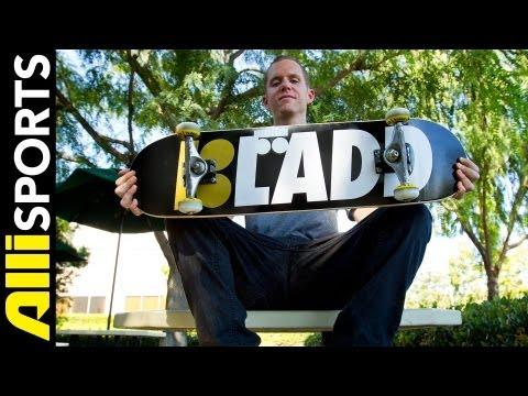 PJ Ladd's Plan B Skateboard Setup, Alli...