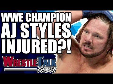 AJ Styles INJURED?! Mark Henry For WWE Hall Of Fame!   WrestleTalk News Mar. 2018