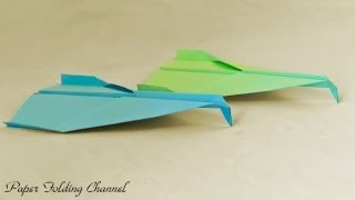 Origami Flying Concorde