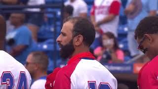 HIGHLIGHTS Puerto Rico v Dominican Republic - Baseball Americas Qualifier