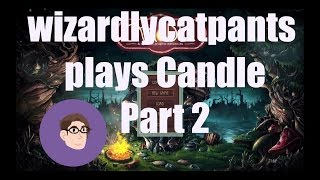 Candle Adventure Game Part 2: The Merchant and His Box