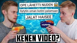 Kuka tubettaja julkaisi tämän videon? (HAASTE) feat. Miklu