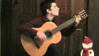 What Child Is This-Christmas Classical Guitar arrangement- Vincent Carrola