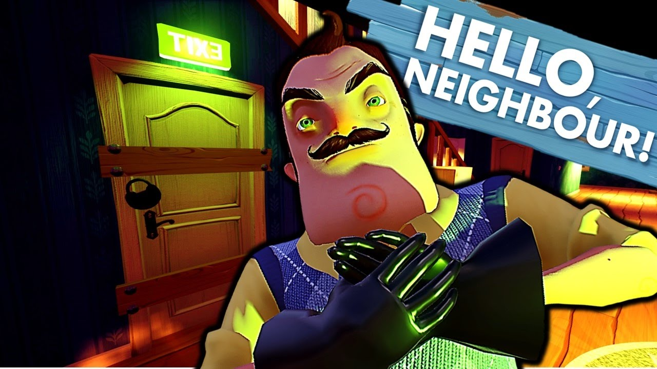 What Is In The Basement Ending Hello Neighbour Alpha 1 Hello Neighbor Youtube