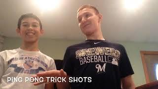 Ping Pong Trick Shots
