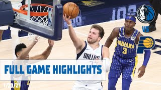 Luka Doncic (13 points, Triple-Double) Highlights vs. Indiana Pacers