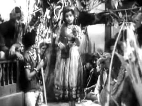 Meri Aankhon Ki Neend Le Gaya Lata  MADHOSH 1951 (KK).mpg