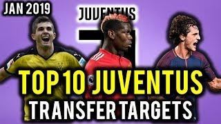 TRANSFER NEWS! TOP 10 Juventus TRANSFER TARGETS January 2019 ft Pulisic, De Ligt, Martial