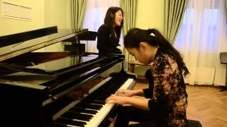 Nadaas chi cover TSaTSral piano,singer Enkhjin