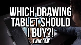 Which drawing tablet should I buy?! 2015 (For coloring comic books with Photoshop) Wacom