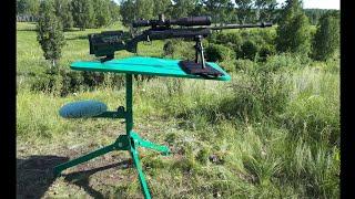 Лучший варминт-стол для охоты на сурков и стрельбы из карабина!!!