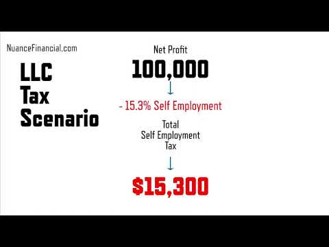 Tax Difference between LLC and S-Corp - LLC vs. S Corporation explanation (FREELANCE TAX & 1099 Tax)