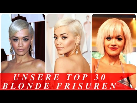 Unsere top 30 blonde frisuren