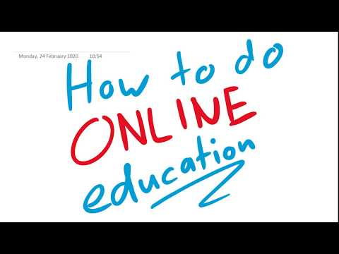 Online Education – How I Make My Videos