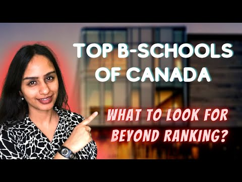 Top B-schools of Canada   Best Fit According to MBA Specialization
