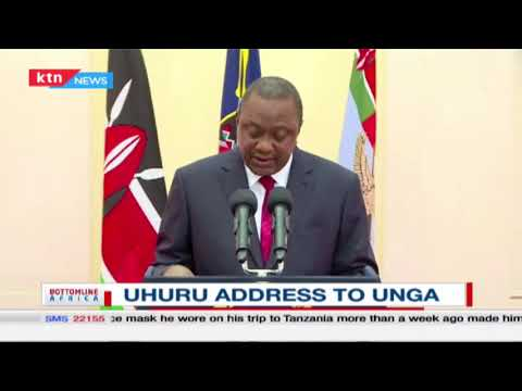 President Uhuru Calls For The Rebuilding Of The UN System To Fight Covid-19 | Bottomline Africa