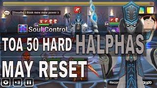 toa 50 hard halphas light lich summoners war
