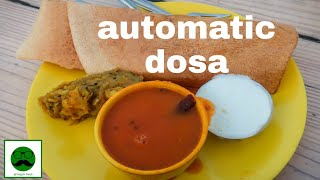 First Time In India- Automatic Dosa in Ahmedabad || Indian Street Food Series
